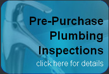 Pre Purchase Plumbing Inspections